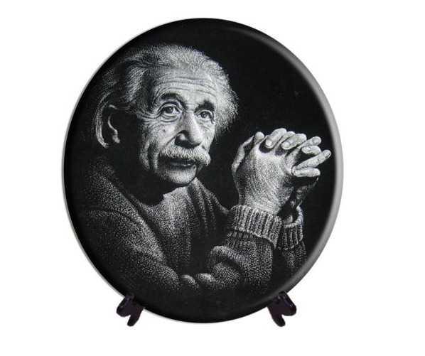 """Гравиране гранит """"Айнщайн"""""""