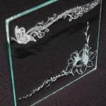 Лазерно гравиране на стъкло 31