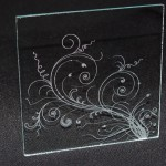 Лазерно гравиране на стъкло 27