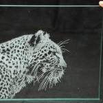 Лазерно гравиране на стъкло 42